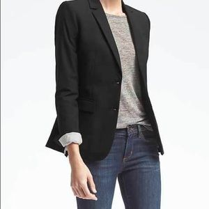 Gap Black Blazer with Gold Buttons